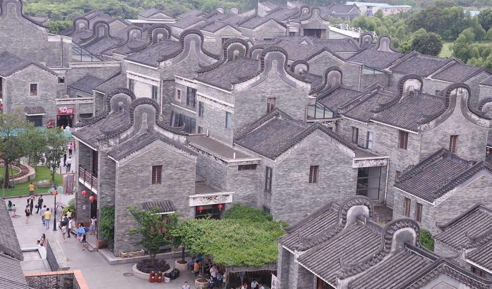 广州市大学城岭南印象园